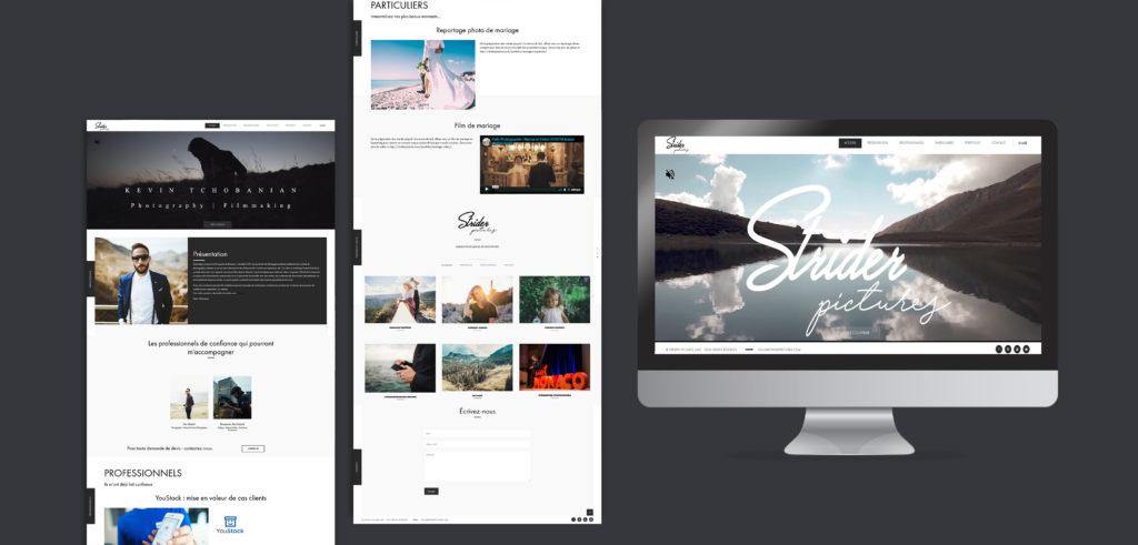 Website réalisation